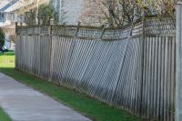 How to Strengthen a Leaning Fence